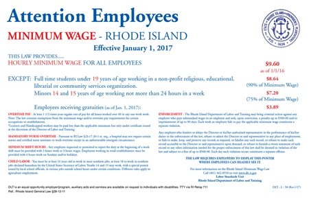 rhode island s minimum wage posting updated compliance poster company. Black Bedroom Furniture Sets. Home Design Ideas