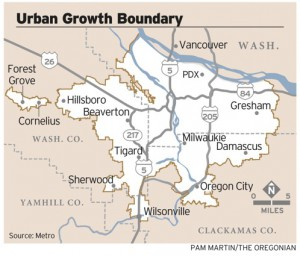 Portland Urban Growth Boundary